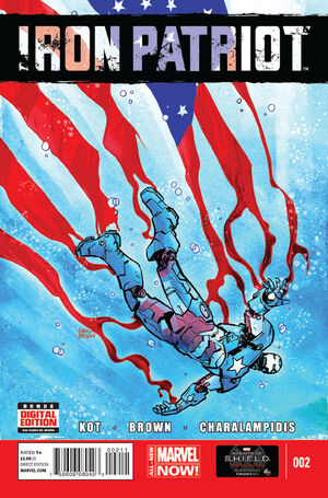 Iron Patriot Vol 1 2