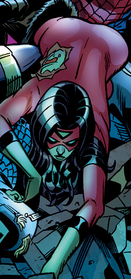 Jessica Drew (Earth-6078) from Friendly Neighborhood Spider-Man Vol 1 9 0001