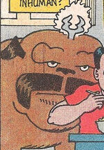 Lockjaw (Earth-77640) from Marvel Age Vol 1 69 0001
