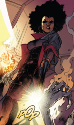 Mercedes Brooks (Warp World) (Earth-616) from Secret Warps Ghost Panther Annual Vol 1 1 001