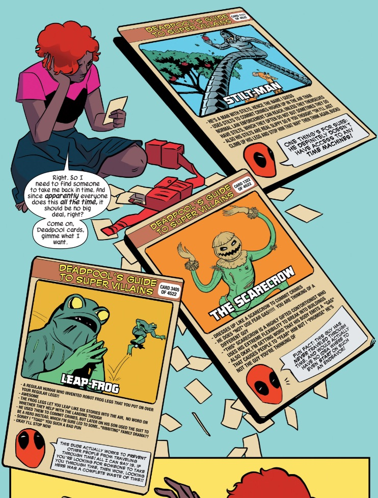 image nancy whitehead earth 616 with deadpool s guide to super