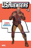 U.S.Avengers Vol 1 1 Nebraska Variant