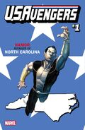 U.S.Avengers Vol 1 1 North Carolina Variant