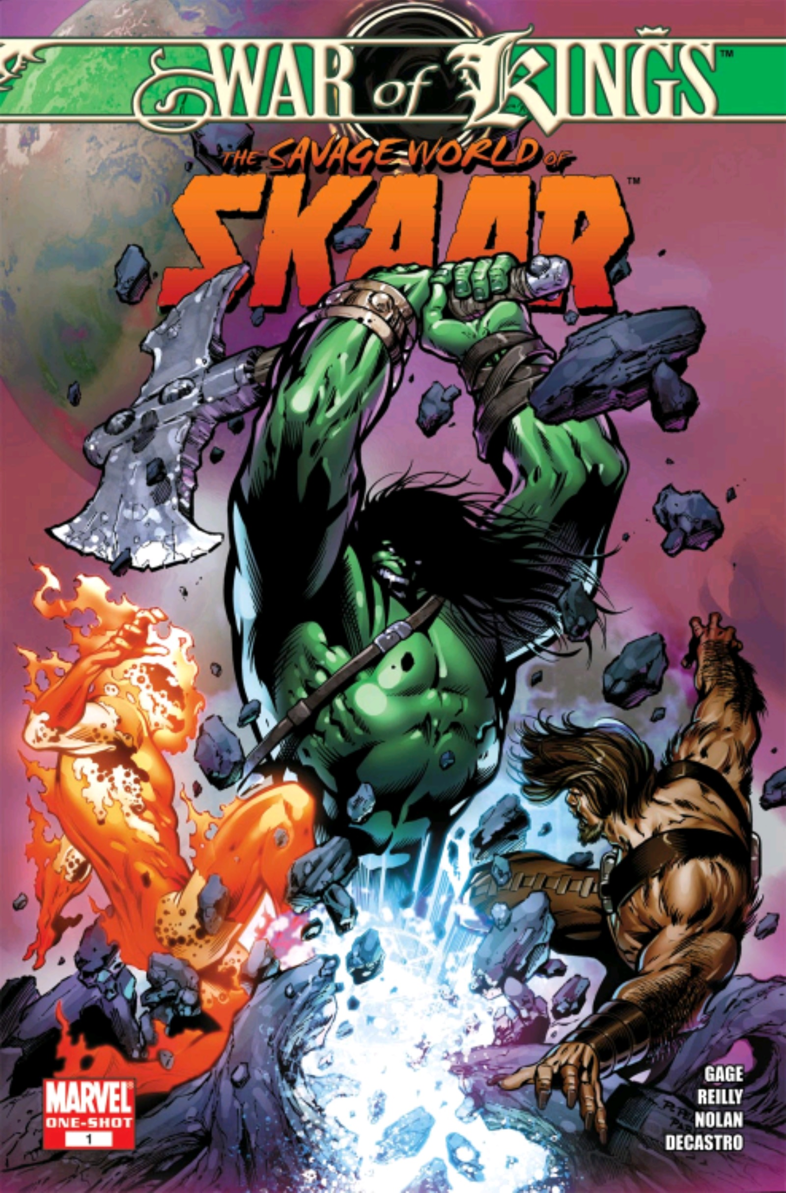 War of Kings Savage World of Skaar Vol 1 1