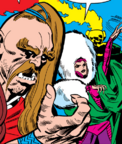 Brimer (Earth-616) and Nedra (Earth-616) from Journey into Mystery Vol 1 105 0001