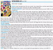 Captain America Vol 1 401 Index Page