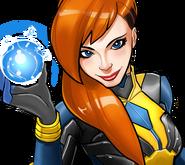 Crystalia Amaquelin (Earth-TRN562) from Marvel Avengers Academy 006