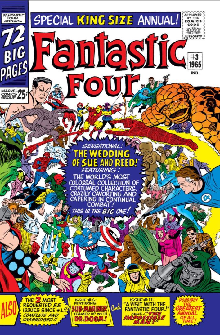 Resultado de imagem para Fantastic Four Annual 03
