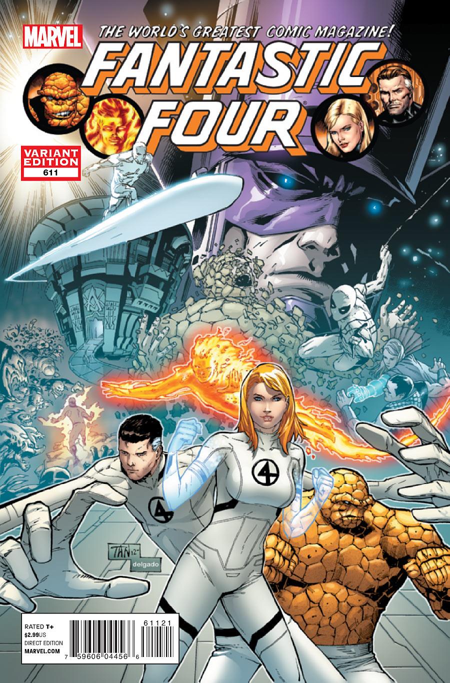 Fantastic Four #1 Marvel 2018 Variant comic book