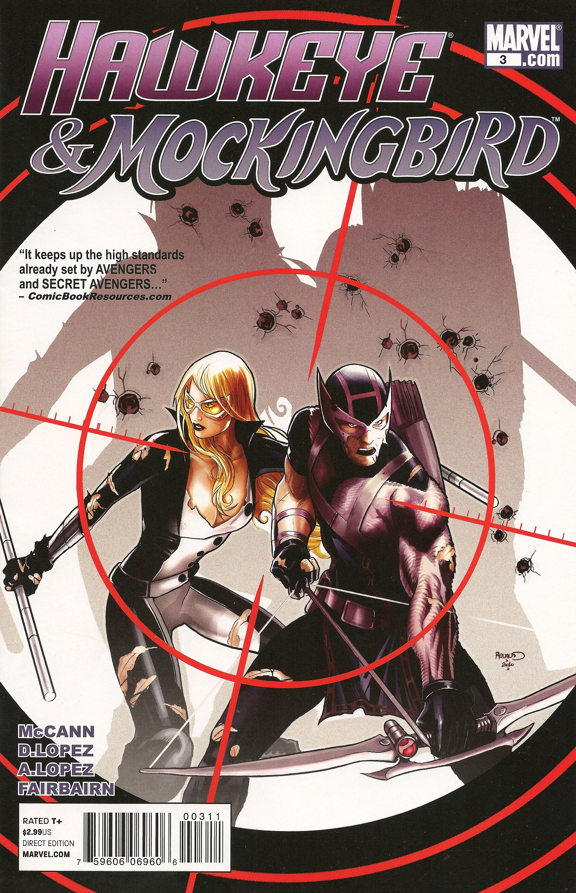 Hawkeye Mockingbird Vol 1 3