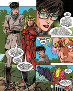 Jennifer Ransome (Earth-616) and Brian Braddock (Earth-616) from Excalibur Vol 1 87 0001