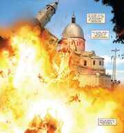 Manila Cathedral from Invincible Iron Man Vol 2 2 002