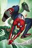 Marvel's Spider-Man City at War Vol 1 5 Sinister Six Variant Textless