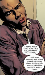 Misty Knight (Earth-555) from Newuniversal Shockfront Vol 1 2 0001