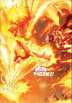 Phoenix Force (Earth-1610) from Ultimate X-Men Vol 1 92 0001