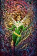 Phoenix Resurrection The Return of Jean Grey Vol 1 4 Singh Variant Textless
