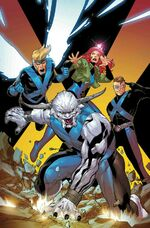 X-Men Blue Vol 1 33 Textless