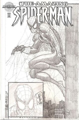 File:Amazing Spider-Man Vol 2 1 Dynamic Forces Marvel Authentix Printed Sketch Edition Variant.jpg