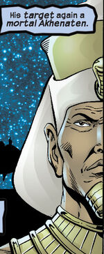 Amenhotep IV (Earth-TRN510) from Marvel Universe The End Vol 1 4 001