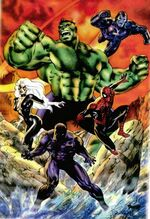 Avengers (Earth-13519) from Marvel Universe Millennial Visions Vol 1 1 001