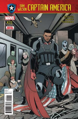Captain America Sam Wilson Vol 1 22