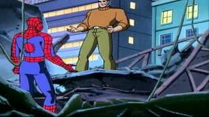 Edward Brock (Earth-92131) and Peter Parker (Earth-92131) from Spider-Man The Animated Series Season 1 9 0001