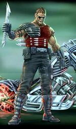 Eric Brooks (Earth-121347) from Ghost Rider (video game) 0001