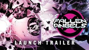 FALLEN ANGELS 1 Launch Trailer Marvel Comics