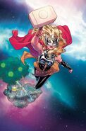 Infinity Countdown Vol 1 1 Mighty Thor Variant Textless