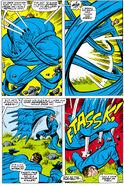 Mister Fantastic battles an evil duplicate from Fantastic Four Vol 1 75