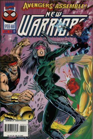 New Warriors Vol 1 72