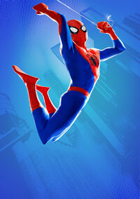 Peter Parker (Earth-TRN701) from Spider-Man Into The Spider-Verse 001