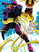 Peter Petruski (Earth-616) third Trapster costume from Spider-Man Vol 1 86