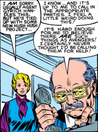 Raymond Sikorski (Earth-616) from Avengers Vol 1 235 001