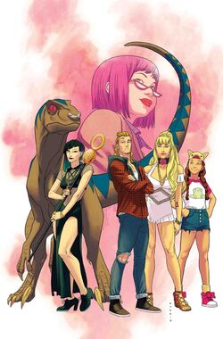 Runaways Vol 5 1 Textless