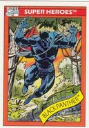 T'Challa (Earth-616) from Marvel Universe Cards Series I 0001