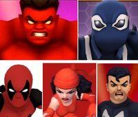 Thunderbolts (Red Hulk) (Earth-91119) from Marvel Super Hero Squad Online 0001