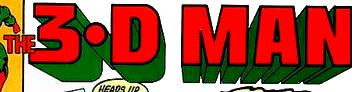 3-D Man Logo