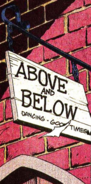 Above and Below from Daredevil Vol 1 295 001