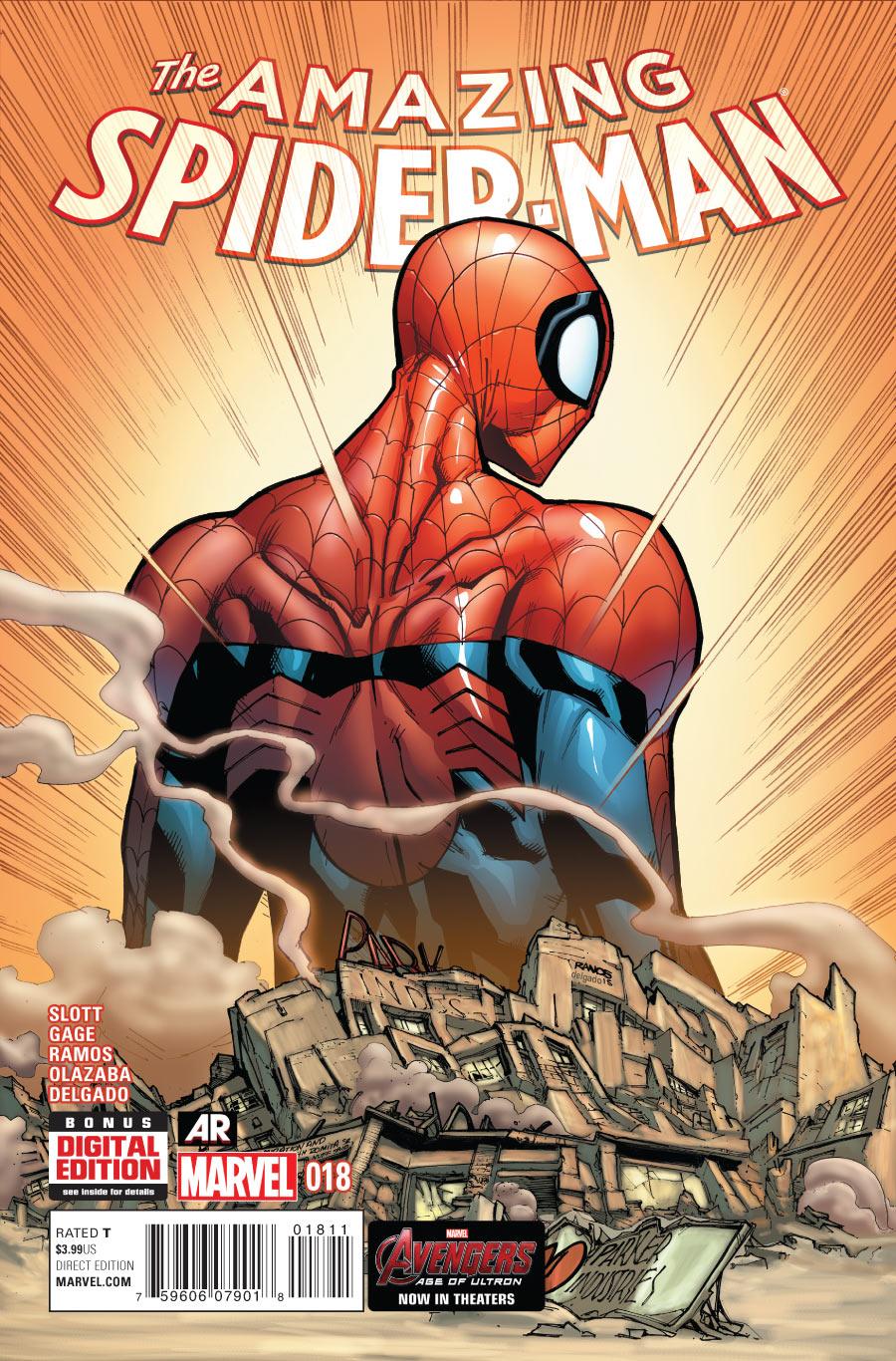 marvel comics database amazing spider man vol 3