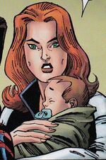 Benjamin Richard Parker (Earth-19725) and Mary Jane Watson (Earth-19725) from Spider-Girl The End Vol 1 1 0001