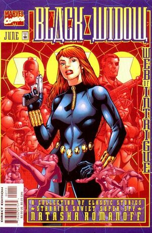 Black Widow Web of Intrigue Vol 1 1