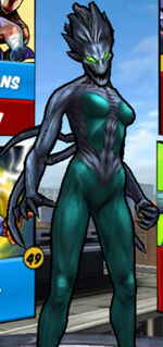 Claire Dixon (Earth-TRN461) from Spider-Man Unlimited (video game) 002