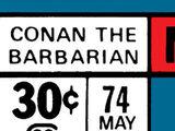 Conan the Barbarian Vol 1 74