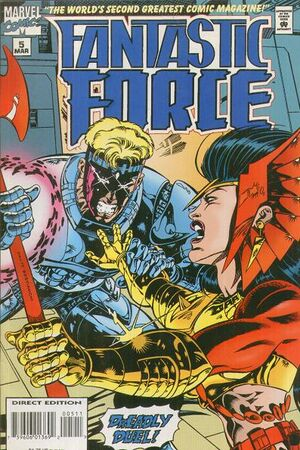 Fantastic Force Vol 1 5