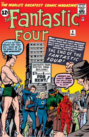 Fantastic Four Vol 1 9