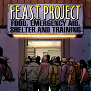 Food, Emergency Aid, Shelter and Training (Earth-616) from Amazing Spider-Man Vol 1 546 001