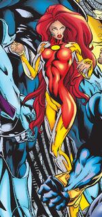 Jean Grey (Earth-1298) from Mutant X Vol 1 21 0001