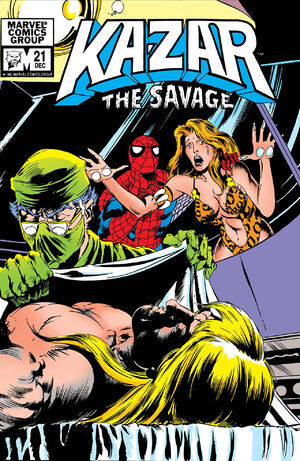 Ka-Zar the Savage Vol 1 21