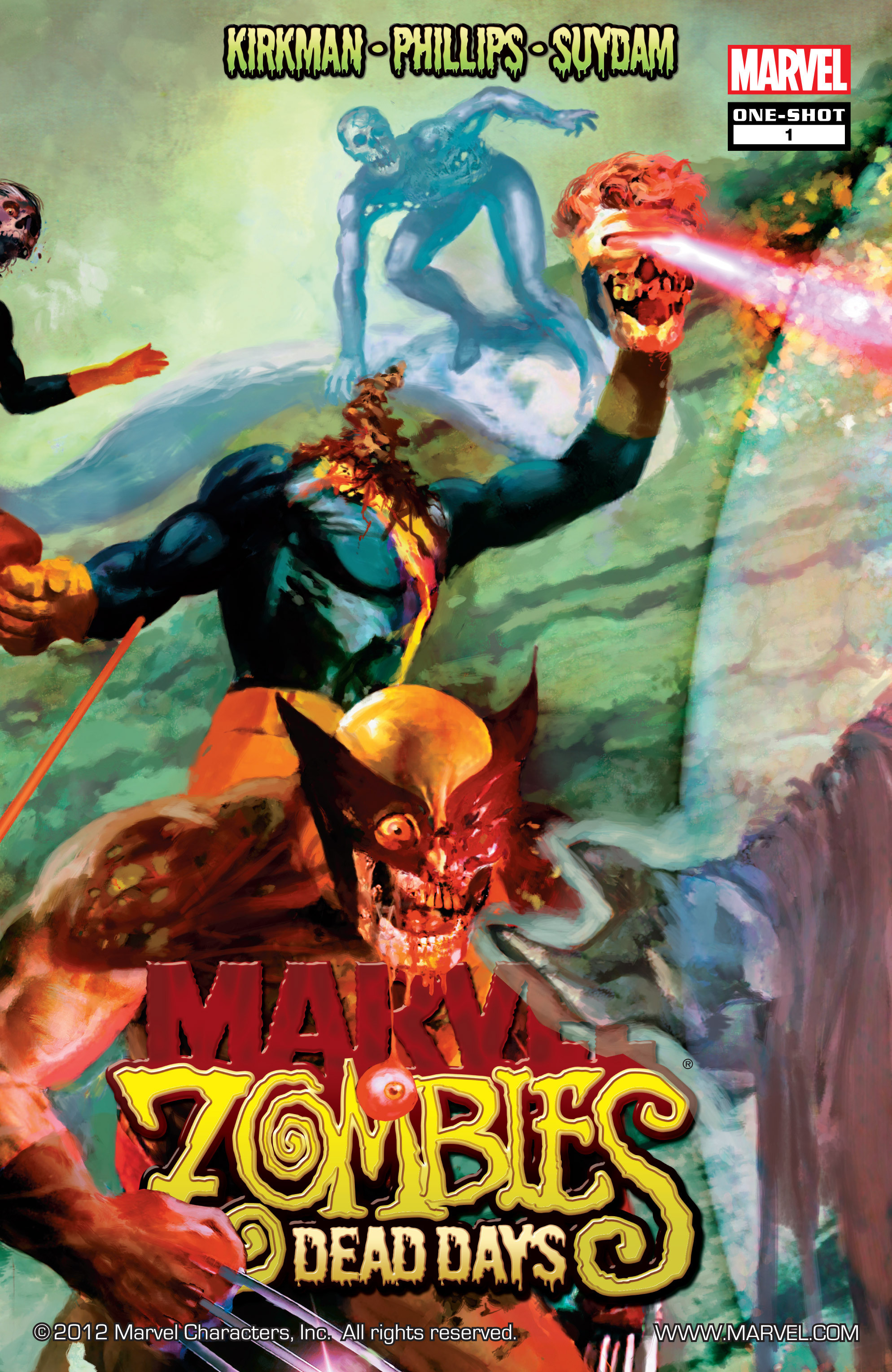 Marvel Zombies - Dead Days Vol 1 1